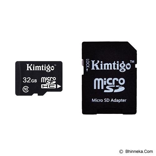 KIMTIGO MicroSD 32GB Class 10 + SD Adapter [KTT-M10] - Micro Secure Digital / Micro Sd Card